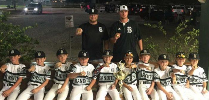 9u Bandito Montgomery Wins May Slugfest at Scrapyard