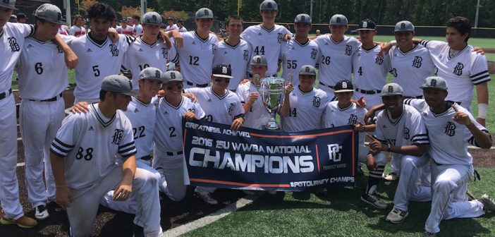 Houston Banditos 15u Black Finish Ranked 1st in 2016 Final Year Standings