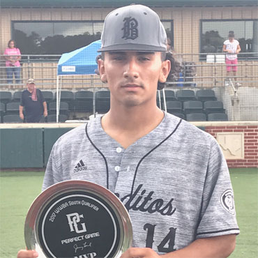 2017 WWBA South Qualifier MVP: Oscar Moralez