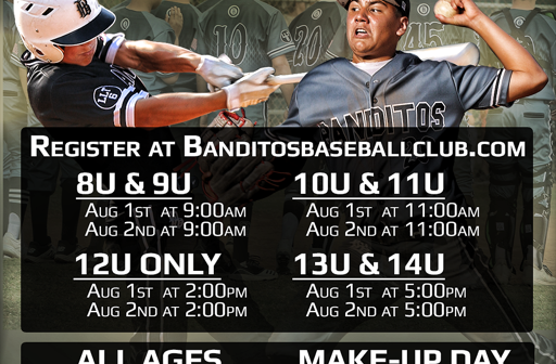 Banditos Announce 2020 Fall Youth Tryout Dates