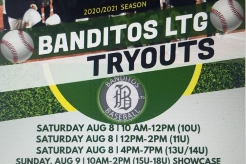 Banditos LTG Announce 2020-2021 Youth Tryout Dates