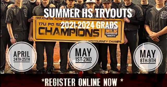 2021 High School Summer Showcase Tryouts